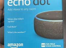Amazon Echo Dot (3rd Generation) Smart Speaker with Alexa – Charcoal