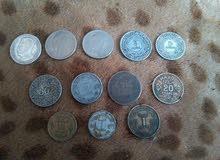 نقود معدنية مغربية قديمة
