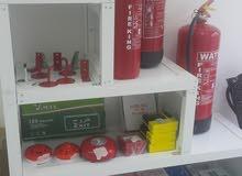 للبيع معدات الإطفاء والسلامه