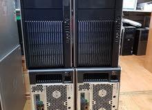 وركستيشن للرندار والجرافيكس HP Z800 ب2 بروسيسور كاش24 و 12 كور