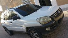 سيارة اسبورتاج 2007 ابيض