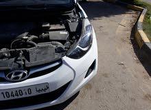 Hyundai Elantra 2012 For sale - White color
