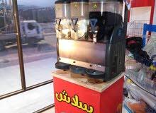 ماكينة سلاش GPG ايطاليه + عرباية ذره + ماكنة شعر البنات + ماكنة بوشار + خلاط للكوكتيل والثلج