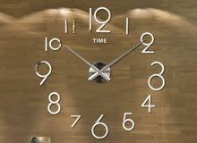 ساعات حائط 3D منظر للمجالس