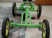 دراجة اربعة كفرات نظييييفة
