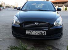 Hyundai Accent 2010 For sale - Black color