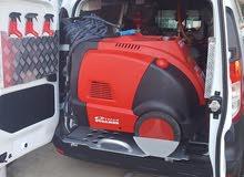 غسيل السيارات بالبخاروالتلميع المتنقلة مع مكينة اوبتيما
