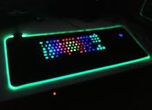 ماوس باد RGB حجم كبيو
