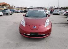 Maroon Nissan Leaf 2015 for sale