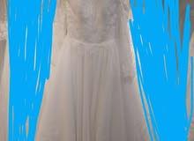 فستان زفاف مميز للايجار بسعر مغري