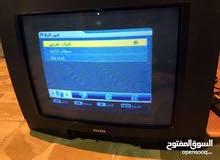 تلفزيون مع ستلايت مع صحن شغالات ب 30 الف
