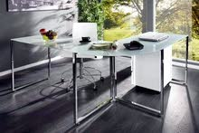 طاولة مكتبية حرف L