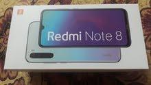 ببيع جهاز شاومى Redmi  NOT8 جديد مشتغلش لسا بكل محتوياته الاصليه بشريحتين