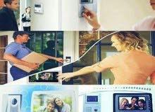 انظمة التحكم في بوابات المباني والمنازل video door