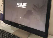 كمبيوتر مكتبي(شامل) بمواصفات عالية ASUS i7
