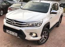 Automatic White Toyota 2018 for sale