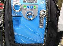 جهاز اكسجين  شحن وكهرباء بحالة الوكالة