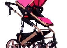 Baby Pram Stroller Pink Color – Baby Stroller
