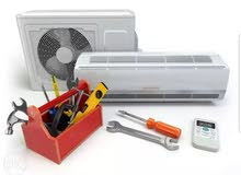 صيانة جميع انواع المكيفات بأفضل الأسعار ابتداء 10 دنانير