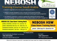 Join Nebosh Safety Course in Saudi Arabia