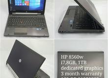 Used laptops, all in good condition & warranty