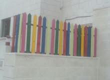 تفصيل سياج خشبي أو حديد ملون للحضانات ورياض الأطفال والمدارس