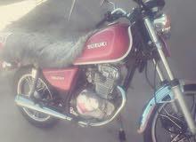 Used Suzuki motorbike made in 2015 for sale