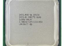 مطلوب معالج Core 2 Quad  Q9650
