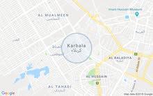 قطعة أرض في محافظة كربلاء منطقة الطاقه في نهاية شارع الطاقة قرب دلالية أبو علاء