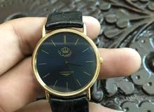 ساعة ملكية LONGINES مطلية ذهب بسعر مغري جداً