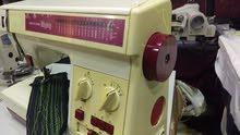ماكينة خياطه حبكه وزكزاك نوع ريكار ميغتي صنع ياباني  اصلي