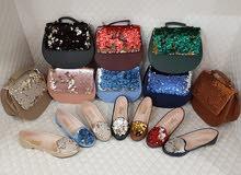 موديلات تركية شعبية حذاء بالحقيبة