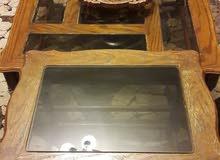 طاولة وسط خشب زان
