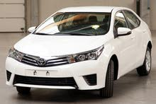 For rent 2016 Toyota Corolla