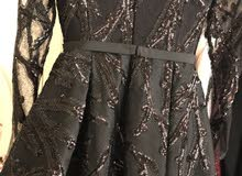 فستان سهره موديل جسميكو لبسه وحده نظيف وجديد مقاس S-XS