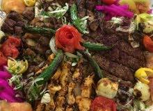 يوجد شيف مشاوي طبخ شرقي طبخ عراقي مشاوي كافه حمص ومثومه مقبلات