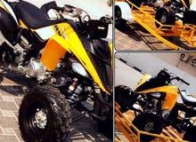دراجه رابتر للبيع شبه جديده مستخدمه مرتان فقط واسبشل اديشن مع الاكسسورات والقالوصه
