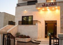 شقة 173م للبيع في اجمل مناطق الرهبات الورديه خلف مسجد عمر ابن الخطاب