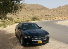 دوج تشارجر للبيع موديل 2012 وارد سلطنة عمان.