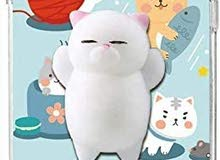 Squishy Cat iPhone 11 Pro, Finger Pinch 3D cover