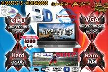 HP ENVY M6 جيل رابع AMD RADEON A10 4600 فيجا 4 جيجا/استيراد كالزيرو