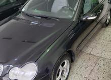 مرسيدس C200 طراز ELEGANCE 2002