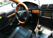 BMW موديل 2000 في قمة نظافه 528 دبال فاينس تنتهي25/2/2019