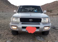 Silver Toyota Land Cruiser 2001 for sale