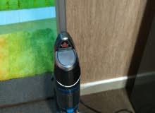 مكنسة كهربائية مع بخار لتنظيف البلاط والتعقيم 2 في 1