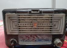 راديو فليبس هولندي للبيع وتليفون فليبس وراديو شارب