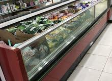 فريزر عرض مثلجات ايطالي للبيع