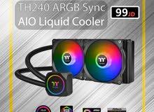 Thermaltake TH240 ARGB Sync AIO Liquid Cooler / تبردي مائي / cooling