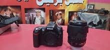 Nikon d90 ($نيكون شبه جديد (550