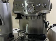 مكينه قهوه للبيع من شركه برفل (مستعمله )